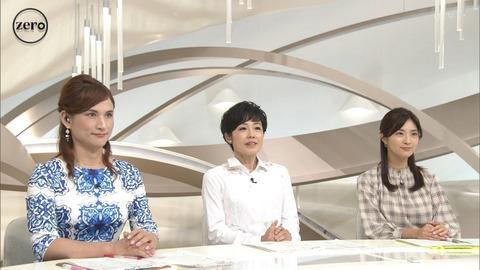 日テレ ニュースZEROにALFEE高見沢そっくりの美女現る