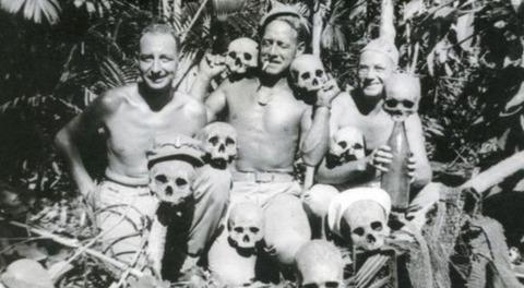 沖縄の日本兵軍曹、住民を殺害、女性を強姦、食料を強奪、井戸を独占と悪行→正義の日本兵に殺害される