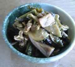 干し野菜・炒め煮