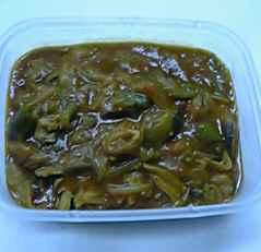 干し野菜・カレー2