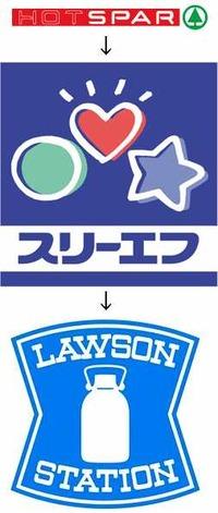 ホットスパー→スリーエフ→ローソン