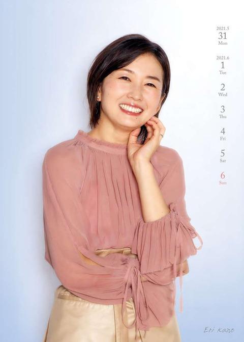テレビ東京女性アナウンサー2021年カレンダー