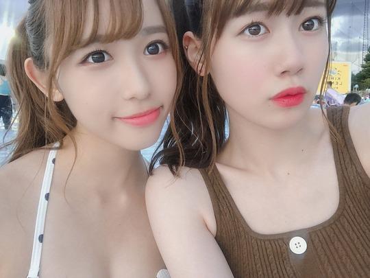 AKB48服部有菜水着姿