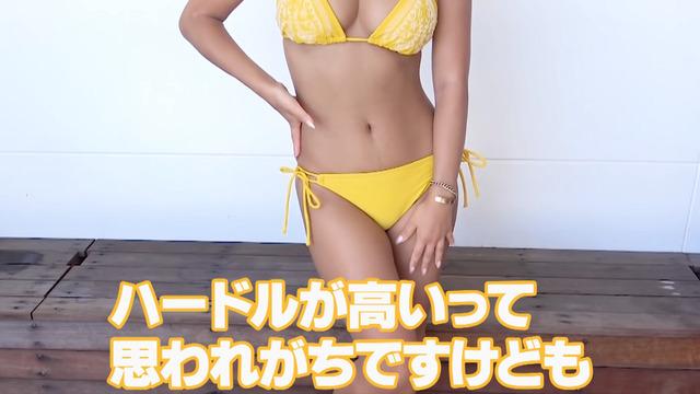 橋本梨菜、青山ひかる、有村瞳、佐藤望美の水着紹介 (19)