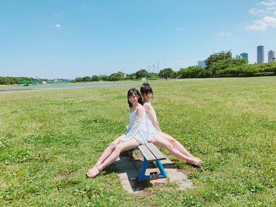 SKE48仲村和泉の水着グラビア