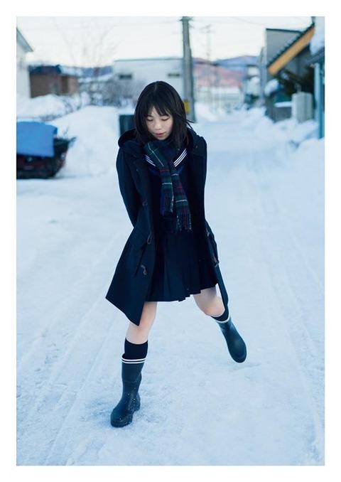 菊地姫奈1st水着写真集「はばたき」