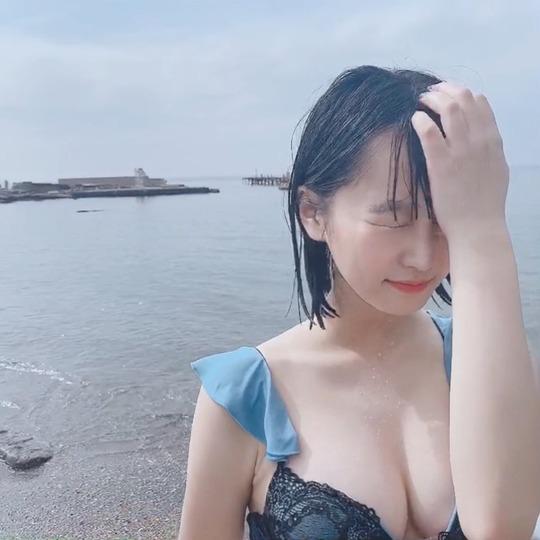 中川美優水着姿