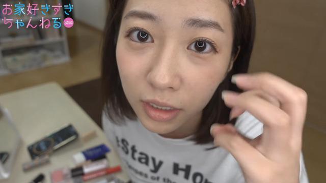 大貫彩香すっぴんからフルメイク (13)