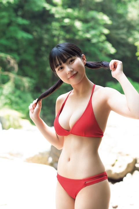 HKT48田中美久1st水着写真集「1/2少女」