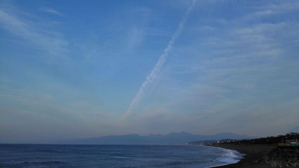 27飛行機雲