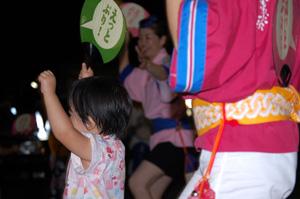 鴨島・輪踊り