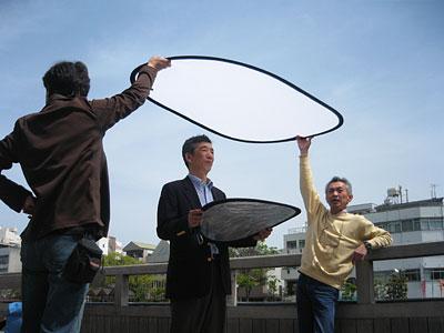 2007年ポスター撮影風景(3)
