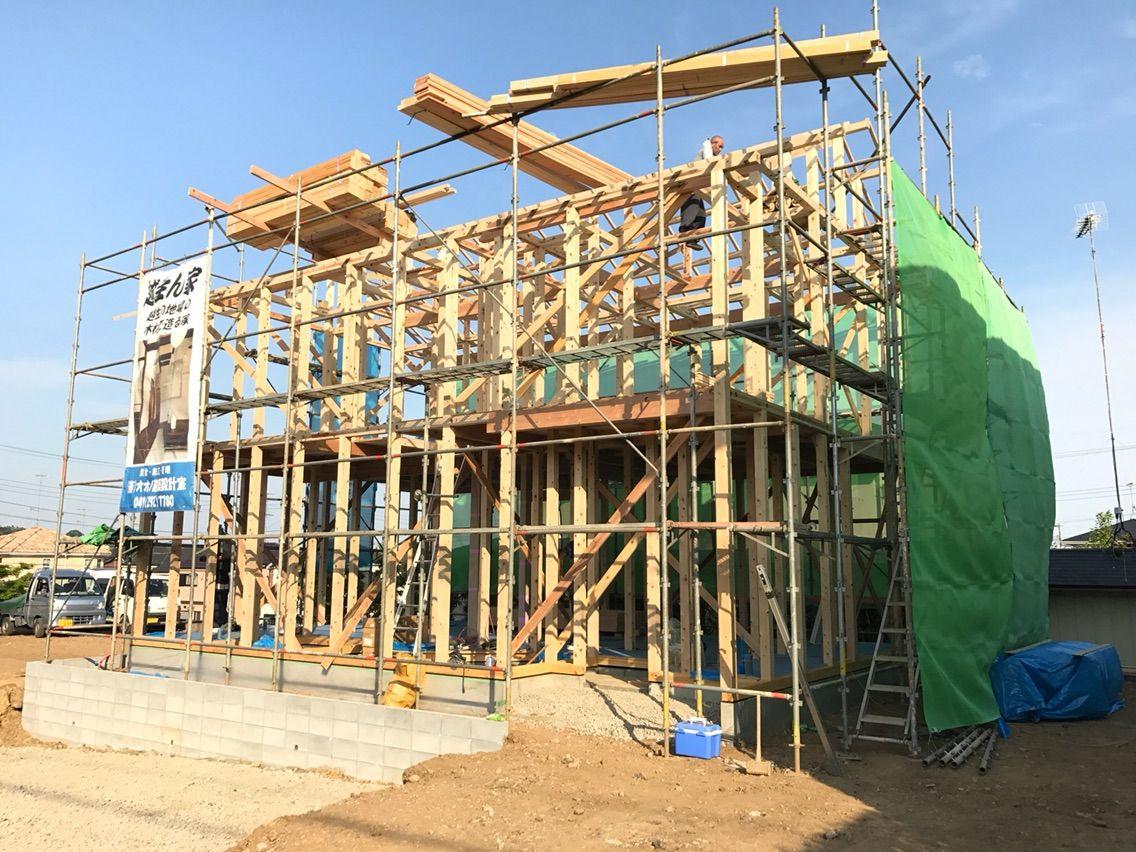 『手刻み』で造る家造り『越生ん家』・坂戸市近郊物件情報/オオノ建築設計室                atsu