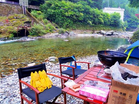 フモフモさん お散歩ブログ 奈良県天川村 キャンプ