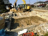 基礎コンクリート解体