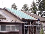 屋根の下葺き