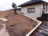 軒先の広小舞や腐朽部分の木材を交換