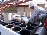 屋根材の現場加工