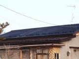 葺き上がった屋根
