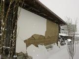 土壁の被害