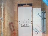 天童市玄関ドア施工