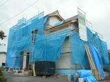 河北町外壁一回目塗装