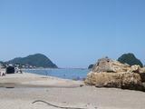 2013年由良海岸