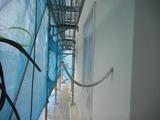 東根市小林現場塗り壁工事2
