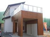 長井モデルハウス外観1