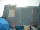 東根市小林現場塗り壁工事