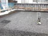 上山美咲町基礎工事写真2
