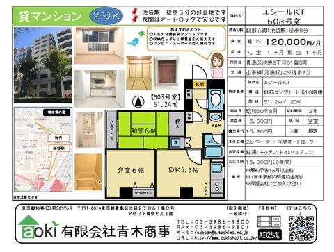エシールKT503号室