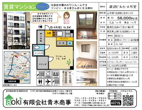 渡辺ビル5-A号室