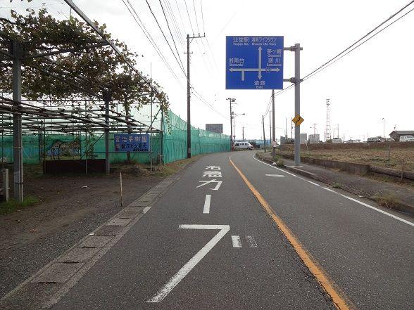 神奈川県道404号遠藤茅ヶ崎線(4/5) : フィールドは果てしなく(Ⅱ期)