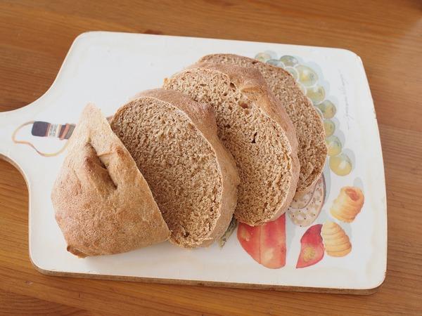 きな粉風味のもっちりパン。
