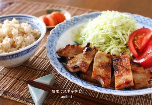 芳醇!ご飯にぴったり!豚ロース肉の酒粕味噌漬け。