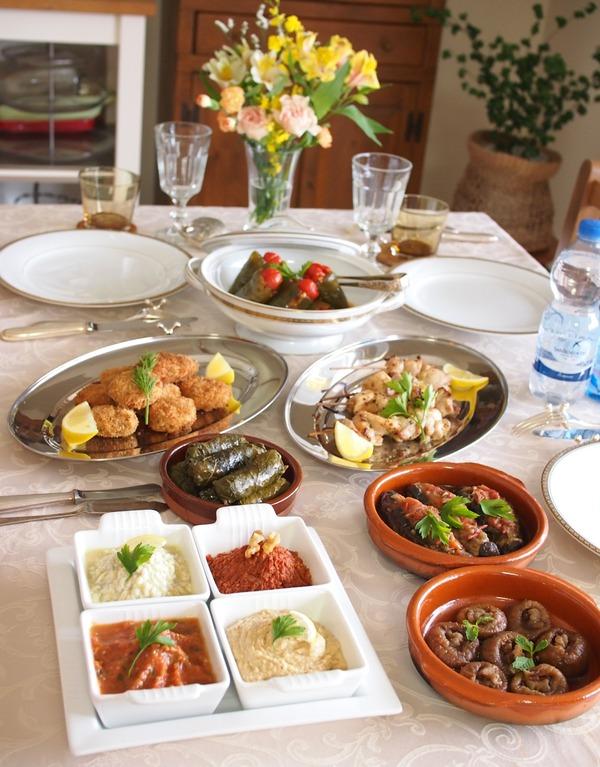 友人たちと「トルコ料理を作って食べまくる会」♪♪
