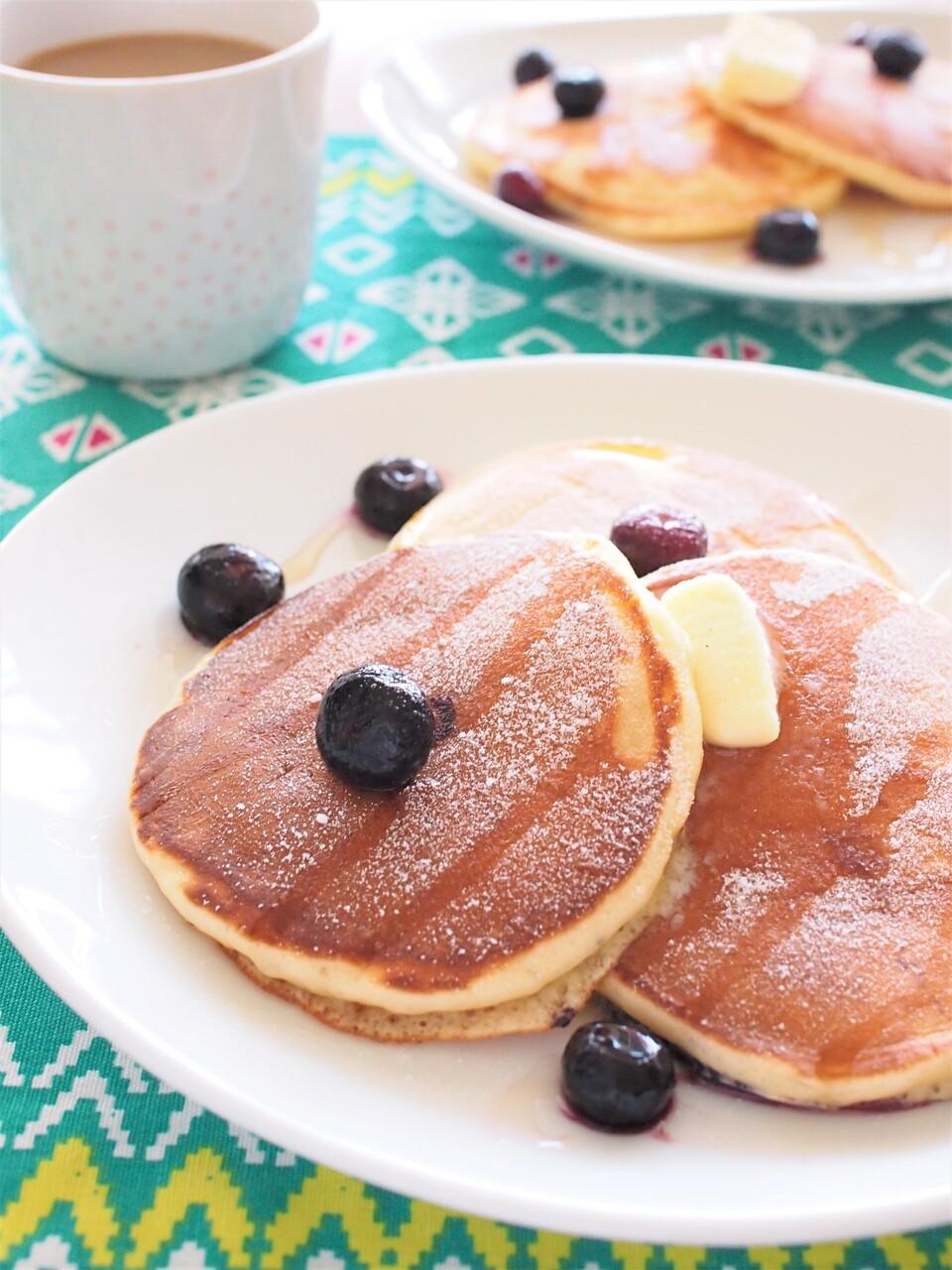 パンケーキ レシピ ホットケーキミックス