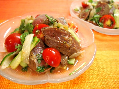 ヤムアヌ~牛肉のタイ風サラダ~。