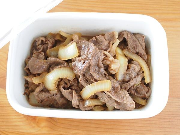 ご飯のお供に。牛肉と玉ねぎのしぐれ煮。