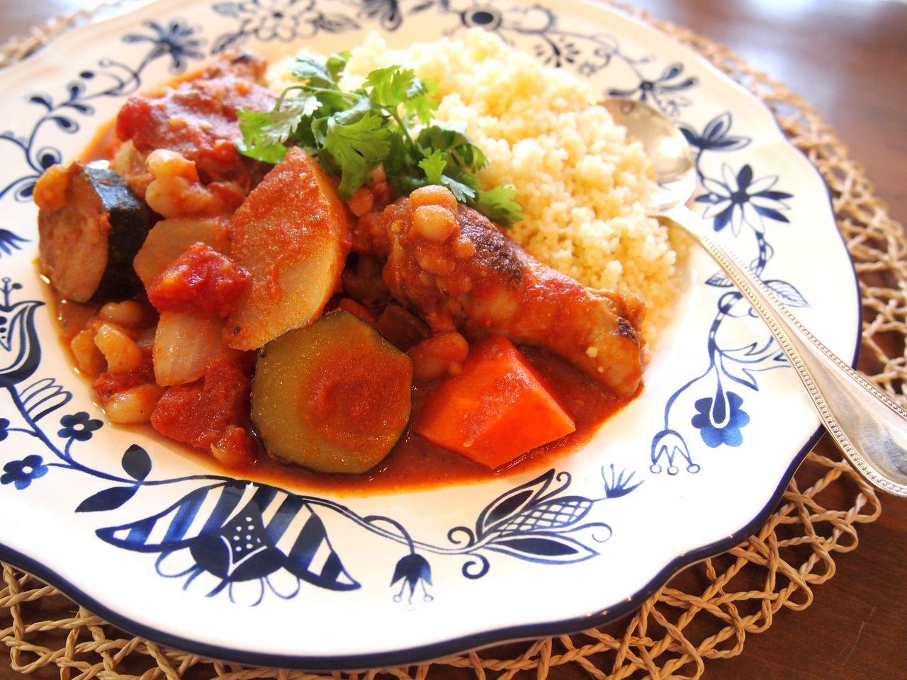 トマト 煮込み 鶏肉