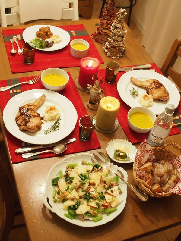家族でおうちクリスマスディナー。