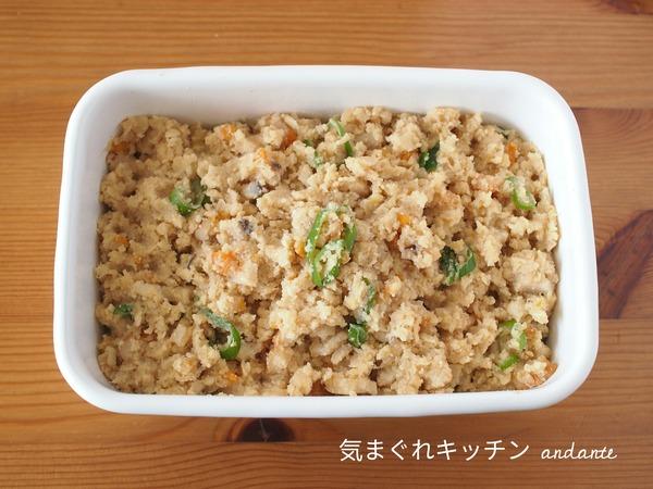 作りおき和惣菜。 卯の花いり(おからの煮物)。