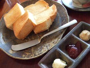 トースト 3種のトッッピング