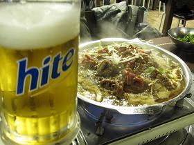 プルコギ&ビール