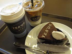 コーヒー&ガトーショコラ