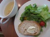 サラダ+パン+スープ