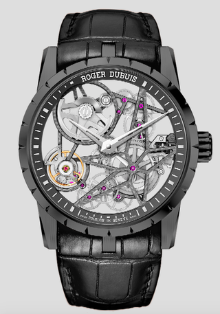 Excalibur 42 Skeleton Black Titanium