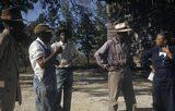 Tuskegee-syphilis-study_subjects-talking-to-nurse-eunice-rivers