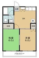 ハイツ田中 2号室 縦